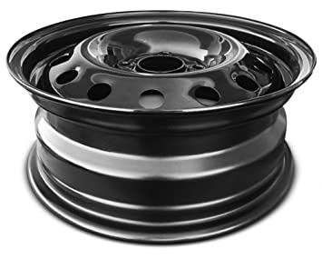 Amazon.com: Road Ready Car Wheel For 2011-2019 Ford Fiesta 2009-2011 Ford Focus 15 Inch 4 Lug Black Steel Rim Fits R15 Tire - Exact OEM Replacement ...