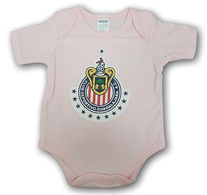 online store 9b40f ca93e ESF Chivas de Guadalajara Baby Bodysuit Mameluco Jumpsuit