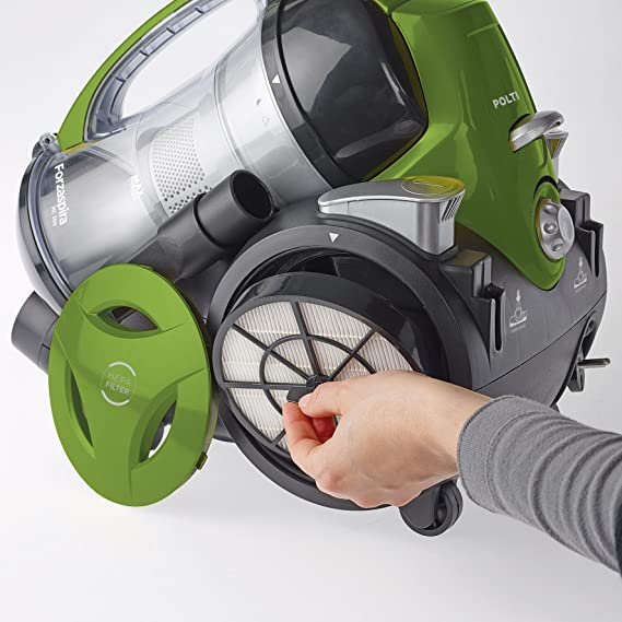 Forzaspira MC330 Turbo - Multi-Cyclonic Bagless Cylinder Vacuum Cleaner 1.8 litre 700 Watt Green 14 day DOA 2 Year Warranty - collect repair and return or ...