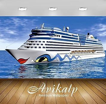Avikalp Exclusive Awi3010 Ship Design Lips Eyes Sea Full Hd