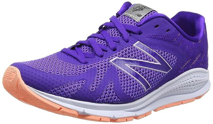 Vazee Urge, Zapatillas de Running para Mujer, Multicolor (Purple/Yellow 502), 37 EU New Balance