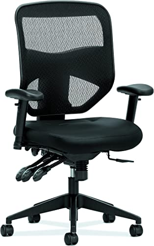 HON Prominent High Back Leather Task Chair