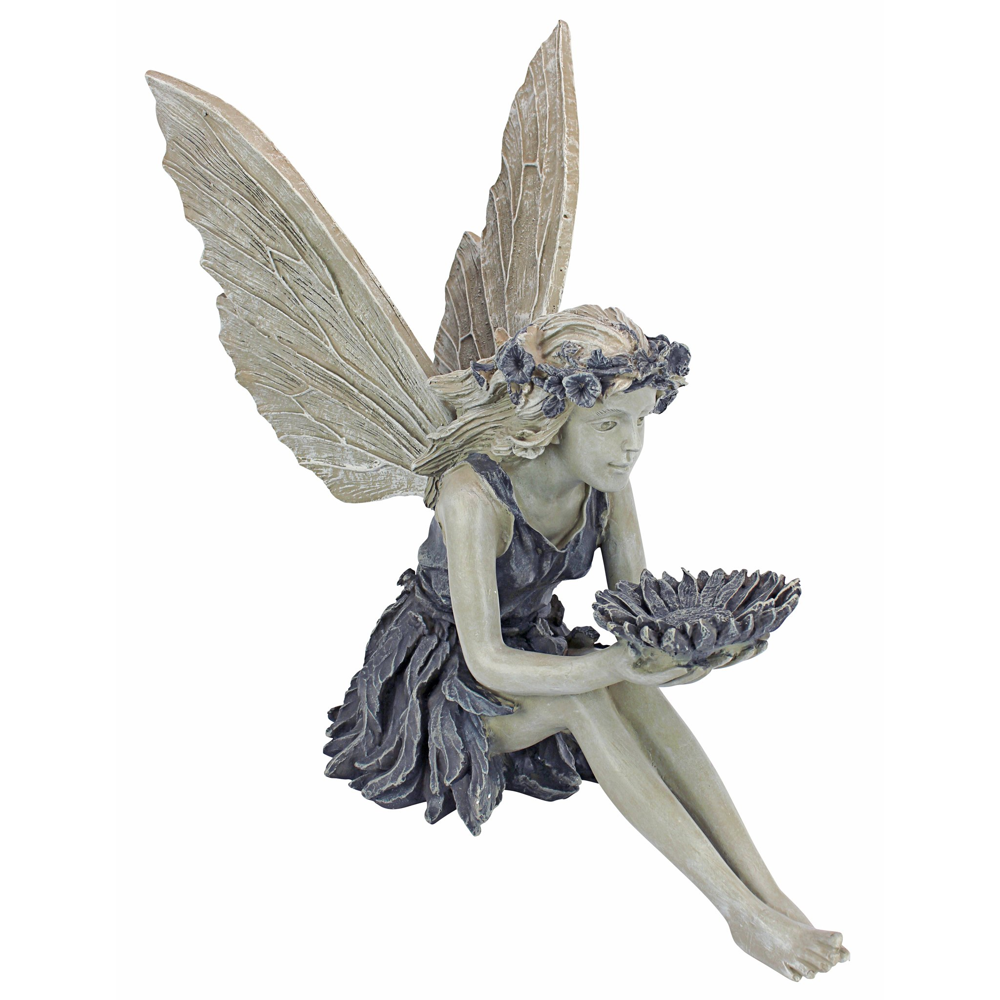 Design Toscano The Sunflower Fairy Statue by Design Toscano