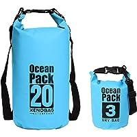 XENOBAG Waterdichte Tas 3 liter of 20 liter/Waterbestendige tas, Ocean Pack 3l of 20l / Dry Bag/Drybag met Verstelbare…