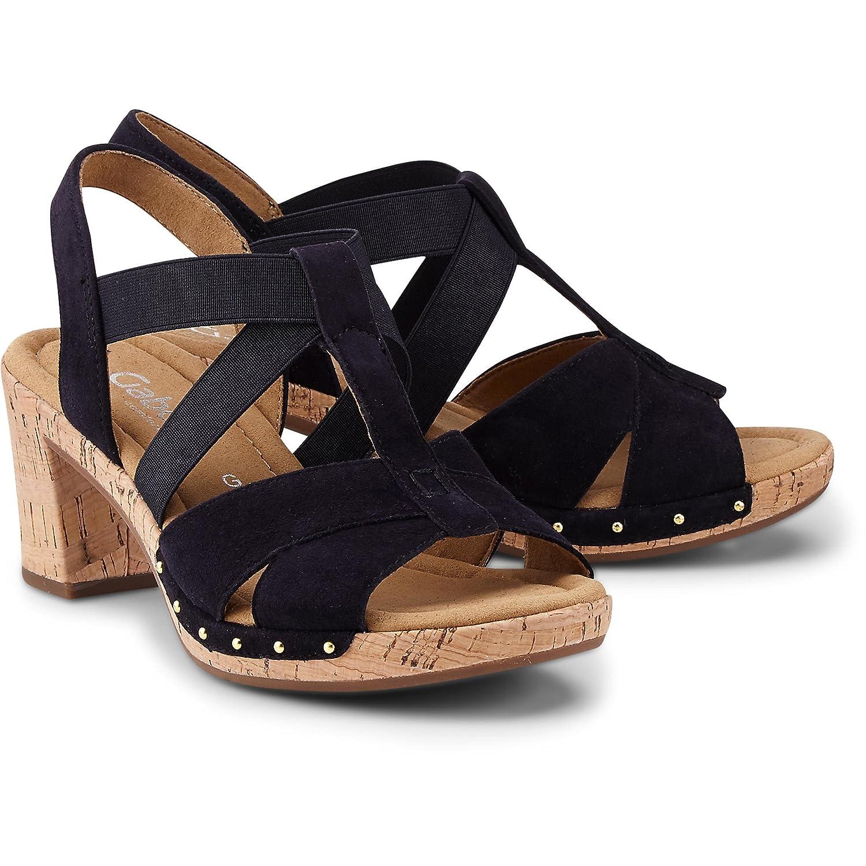 Gabor Comfort Sport Sandalette 82.773.26 in Übergrößen Blau 82.773.26 Sandalette Große Damenschuhe Pazifik ee1d26