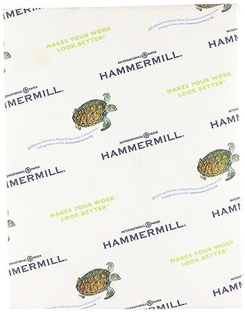 Hammermühle (Technik) Papier, Farben blau, 9,1 kg., 8,5 x 11, Letter ...