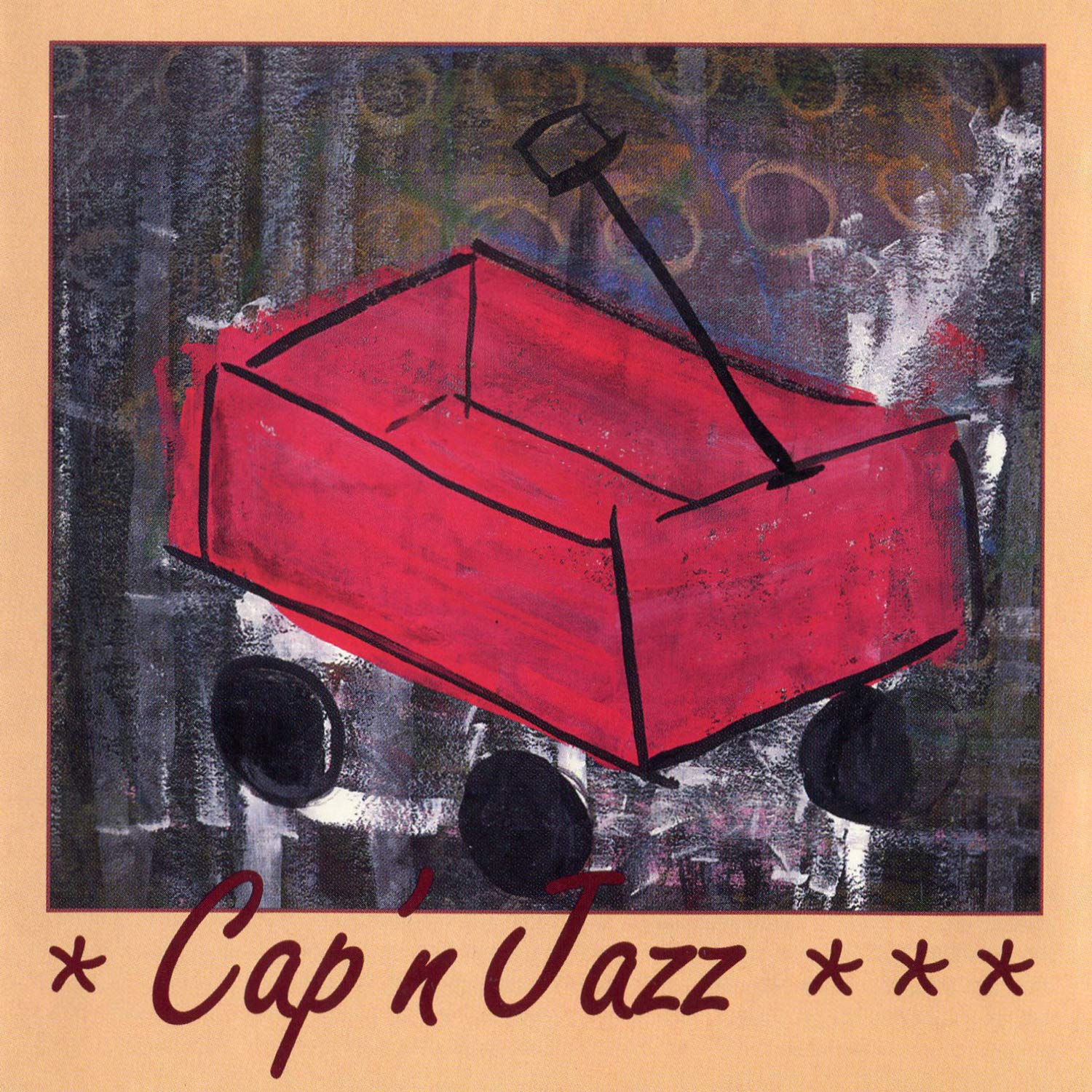 Cassette : Cap'n Jazz - Burritos Inspiration Point Fork Balloon Sports (Cassette)
