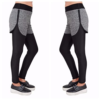d0126951c720a Samkit Women's Skinny Fit Stretchable Tights, Gym Legging, Women Yoga Pants,  Running Pants: Amazon.in: Sports, Fitness & Outdoors
