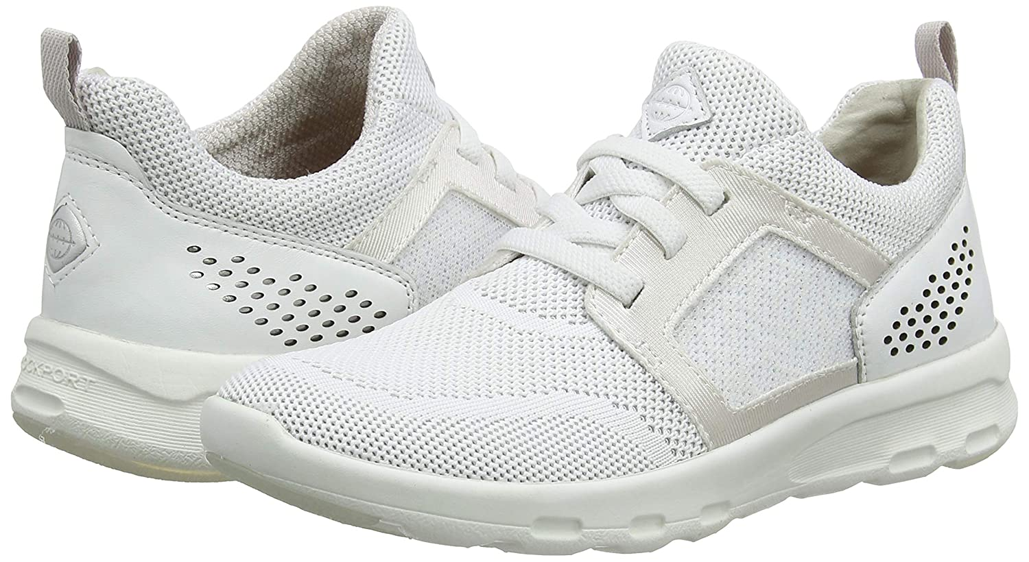 Rockport Lets Walk Womens Knit Trainers