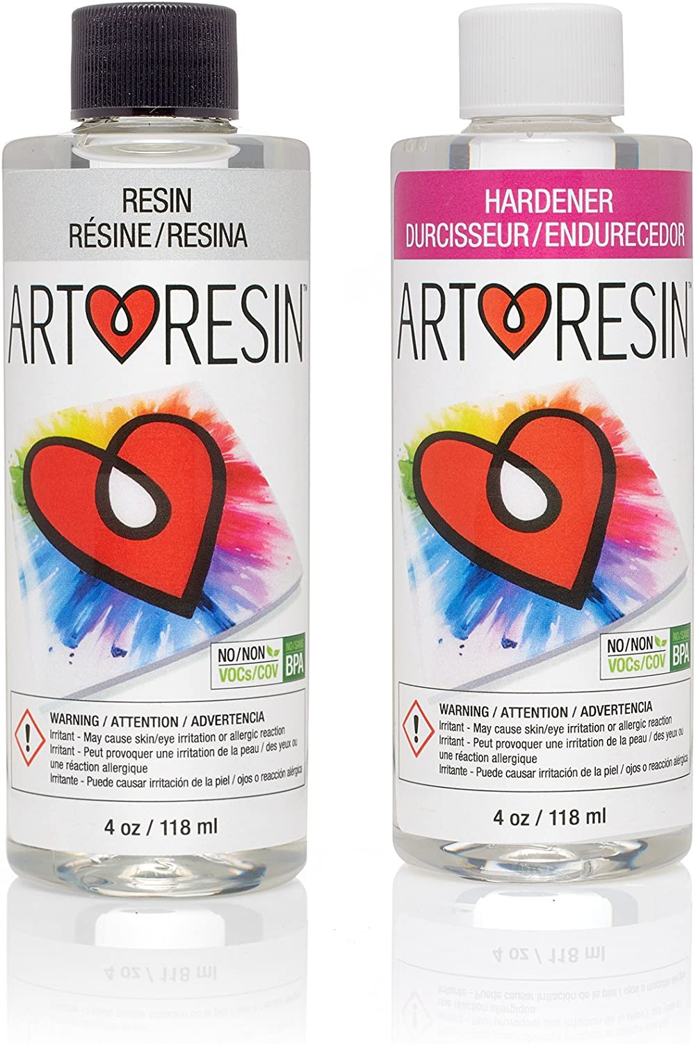 ArtResin - Epoxy Resin - Clear - Non-Toxic - 8 oz ( 236 ml )