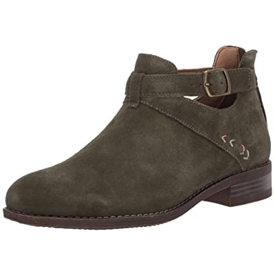 Skechers Women's Sepia-Short Buckled Strap Bootie with Air Cooled Memory Foam Ankle Boot | Ankle & Bootie