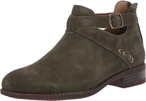 Skechers Damen Sepia Short Buckled Strap Bootie with Air Cooled Memory Foam Stiefelette