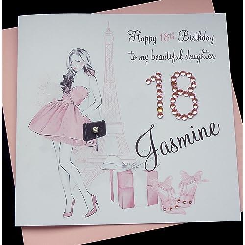 Handmade Personalised Birthday Cards Amazon