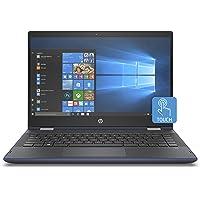 "HP Pavilion x360 14-cd0010ns - Ordenador Portátil Convertible 14"" FullHD (Intel Core i5-8250U, 8 GB RAM, 256 GB SDD, Intel Graphics, Windows 10), Color Azul - Teclado QWERTY Español"