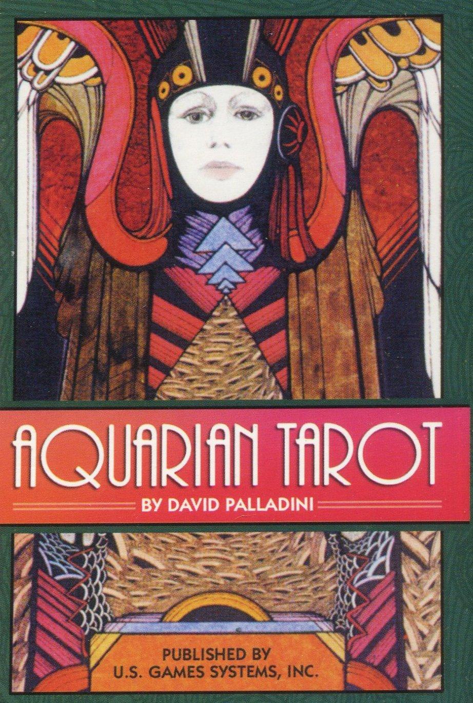 Aquarian Tarot Deck #15: Palladini David: 9780913866696