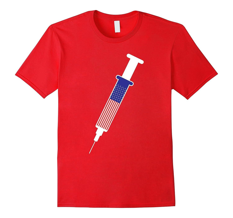 American Nurse Paramedic Patriotic Tee Shirt-TD