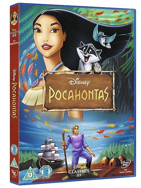 Amazon Com Pocahontas 1995 Limited Edition Artwork Sleeve Dvd Movies Tv