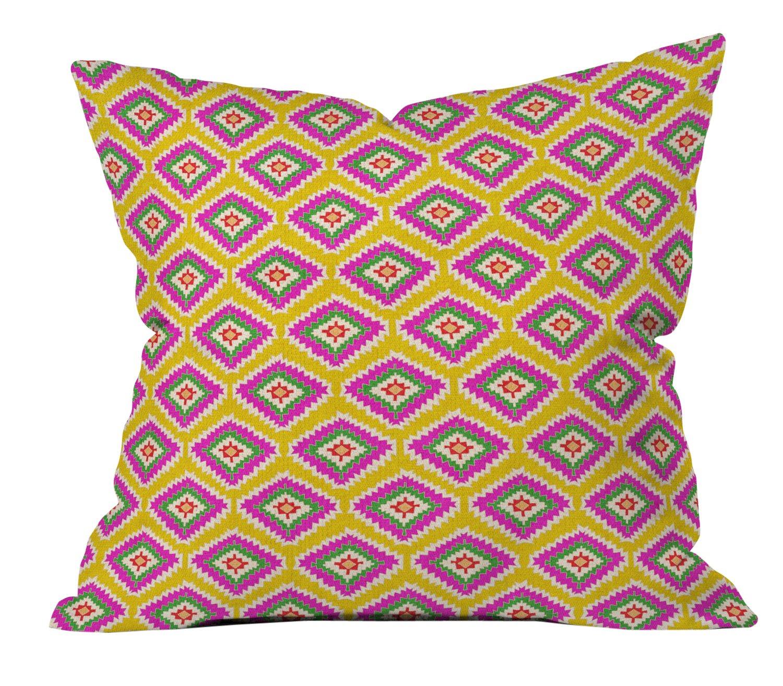 16 X 16 Deny Designs Bianca Green Follow The Sky Outdoor Throw Pillow