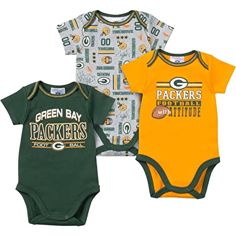 Amazon Com Gerber Childrenswear Nfl Green Bay Packers Infant 3