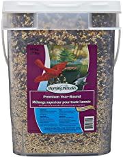 Morning Melodies 409-214 Premium Year-Round Bird Seed Pail 10kg, 1 Piece, Small