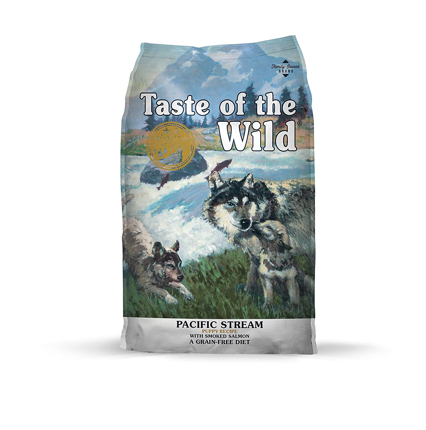 4. Taste Of The Wild Grain-Free Premium Dry Dog Food Pacific Stream Puppy - Salmon