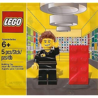 Lego Shop Employee MiniFigure Set 5001622: Toys & Games