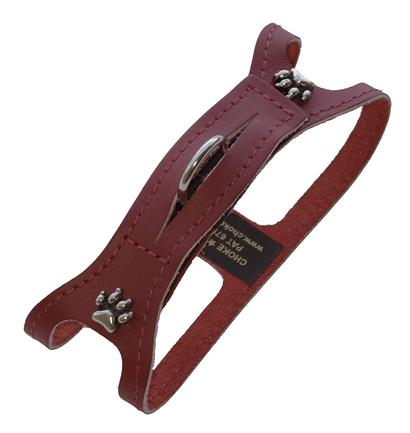 Non Metallic Red s Non Metallic Red s ChokeFree Pet Shoulder Collar, 9-Inch, Non Metallic Red