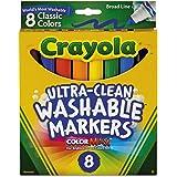 Crayola 绘儿乐 宽头可水洗马克笔 Case of 24 Packs 经典