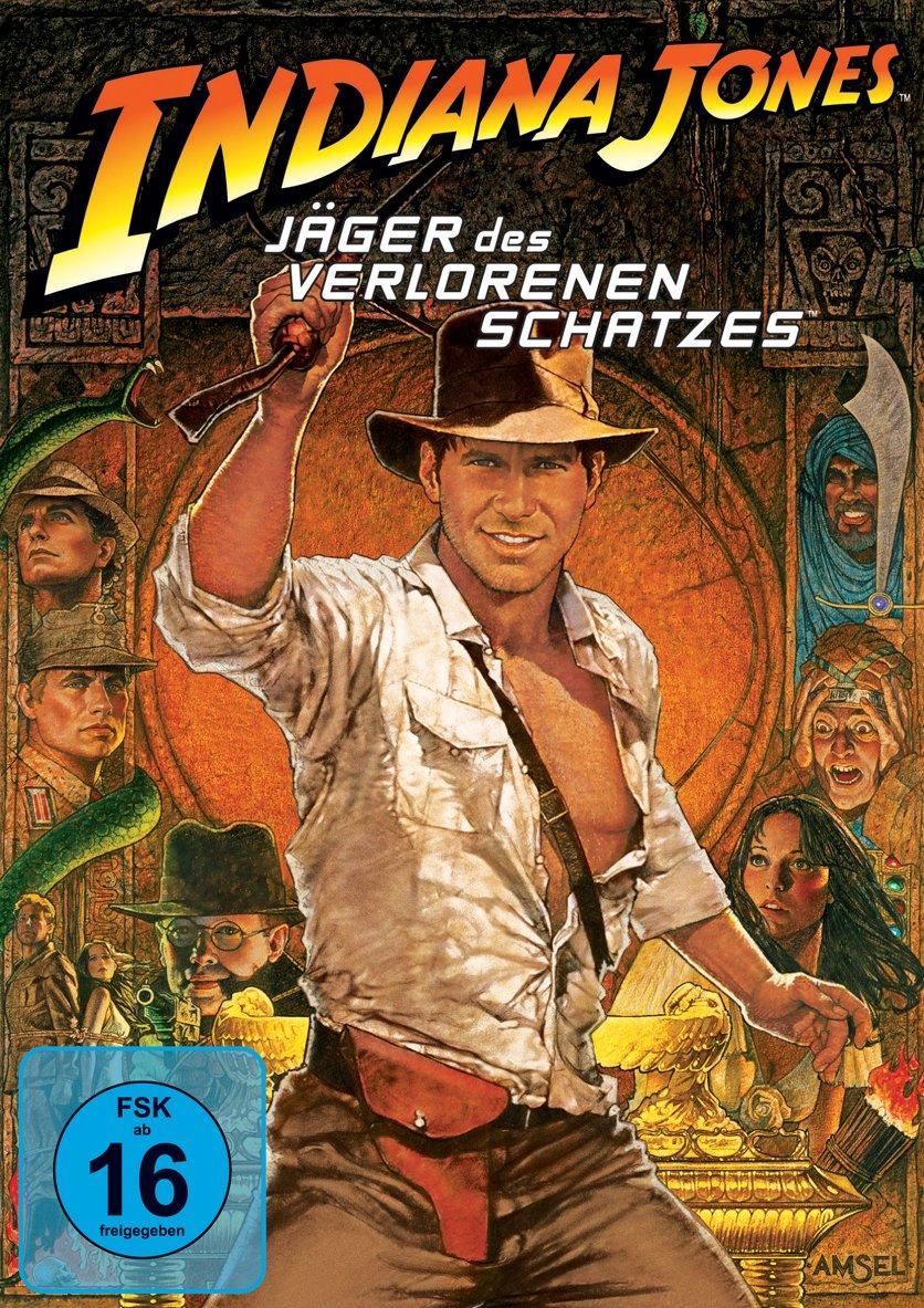 Indiana Jones - Jäger des verlorenen Schatzes Alemania DVD: Amazon.es: Harrison Ford, Karen Allen, Paul Freeman, Wolf Kahler, Ronald Lacey, John Rhys-Davies, Anthony Higgins, Denholm Elliott, Alfred Molina, Vic Tablian, Don Fellows,