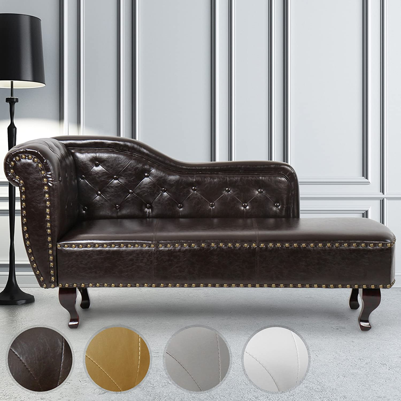 Miadomodo Chlg01dunkelbraun Divan Elegant Design Dark Brown