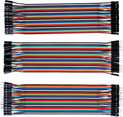 120PCS To Female Male To Male Dupont Line Ribbon Cable Jumper Wire Arduino