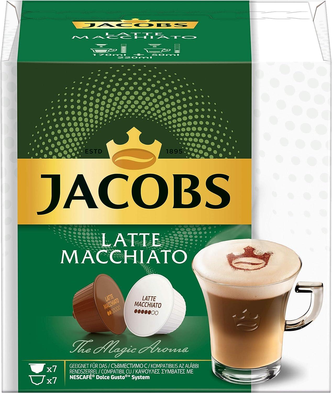 Jacobs Latte Macchiato, Café, Café, Cápsulas Nescafé Dolce Gusto ...