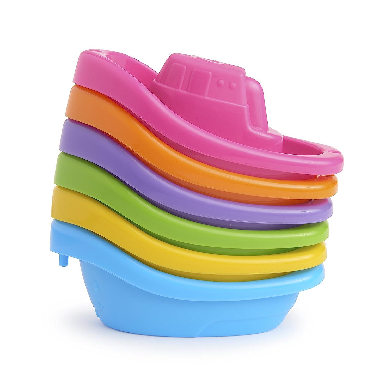 Munchkin Bath Toy Little Boat Train 6 Count