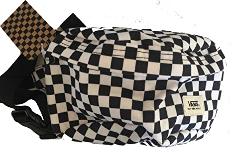 3f4a0f55e54 Image Unavailable. Image not available for. Color: Vans Black and White  Checkerboard Waist Pack Fanny Hip Unipack Backpack
