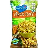 Barbara'S Bakery Cheese Puffs Jalapeno, 198 gm