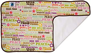product image for Planet Wise Designer Changing Pad, Think Peace