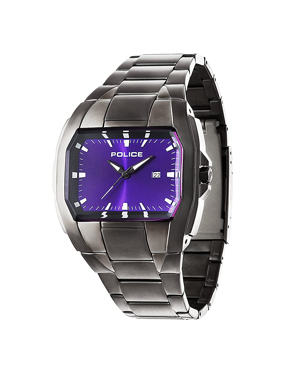 Police Glendale Herren-Armbanduhr Analog Quarz Edelstahl beschichtet - PL.94181AEU-15M