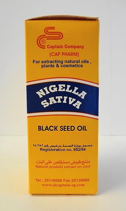 Amazon.com: Nigella Sativa Black Seed Oil 120ml (Large Size) OR 2X60 ML=120 ML: Health & Personal Care