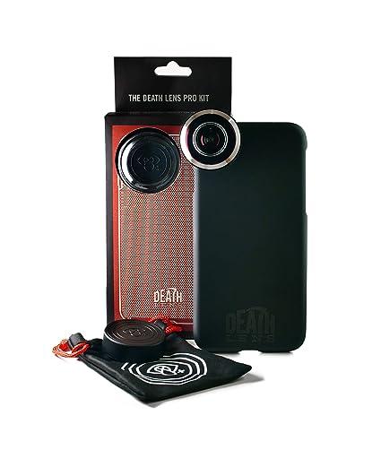 timeless design 197c0 effa6 Amazon.com: Death Lens iPhone 8 Plus Pro Fisheye Lens kit – 200 ...