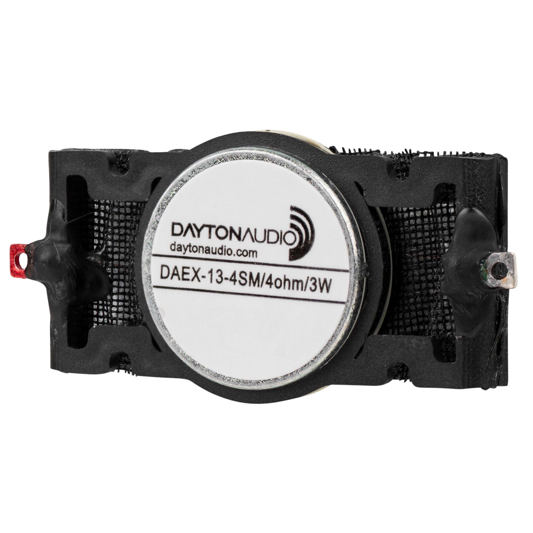 Dayton Audio DAEX-13-4SM Skinny Mini Exciter Audio and Haptic Feedback 13mm 3W 4 Ohm