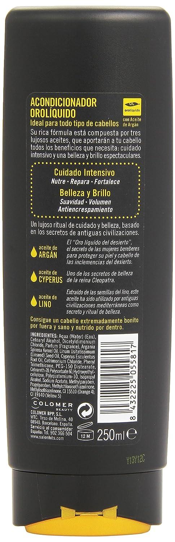 Salon Hits Orolíquido Acondicionador, Cuidado Intensivo - 250 ml: Amazon.es: Amazon Pantry