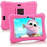 Pritom 7 inch Kids Tablet, Quad Core Android 10, 16GB ROM, WiFi, Bluetooth, Dual Camera, Educationl, Games, Parental Control,