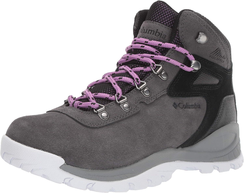 Columbia Women s Newton Ridge Plus Waterproof Amped Hiking Boot, Waterproof Leather