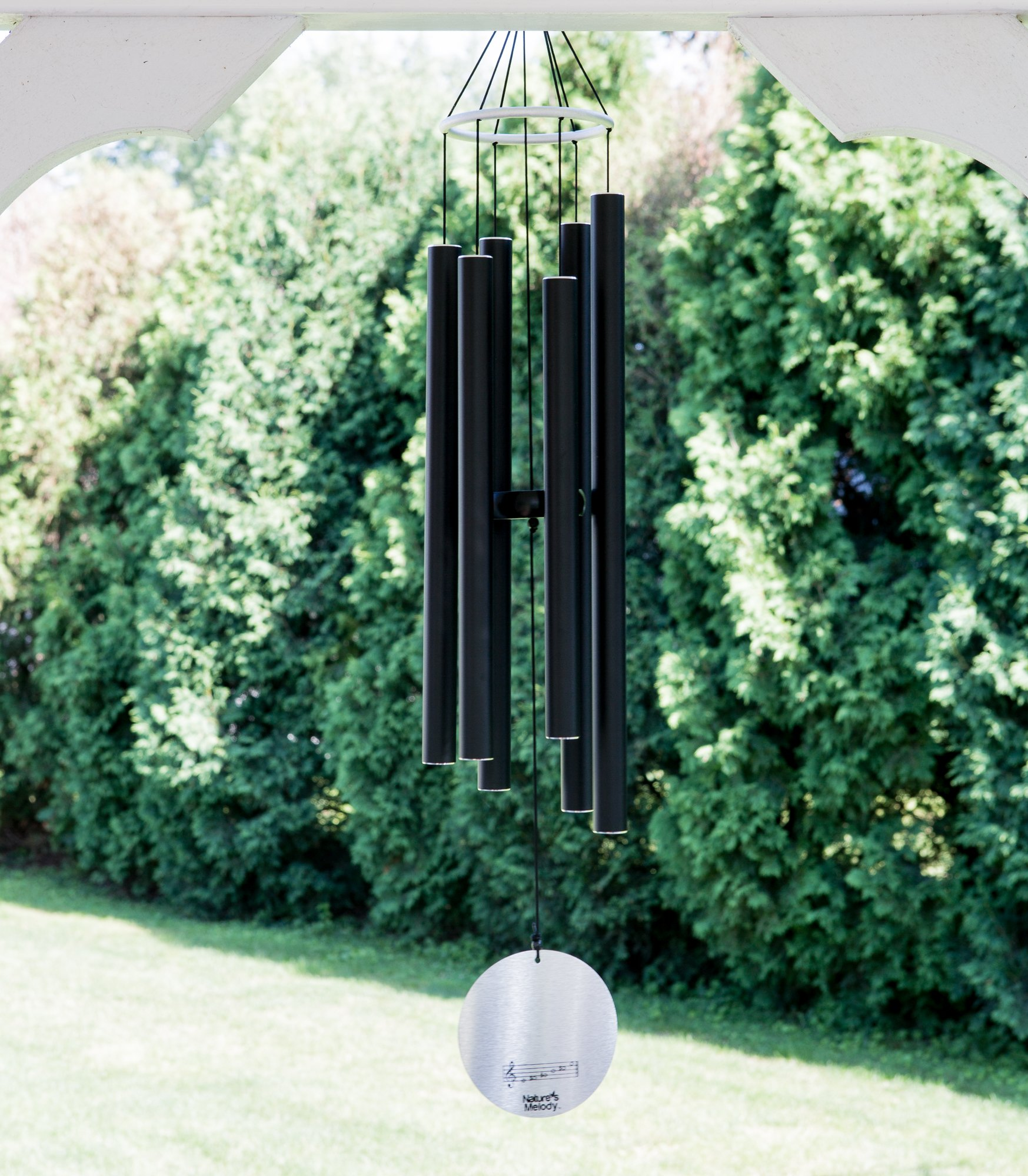 """Nature's Melody Wind Chimes for Outdoor, Tuned Metal Tubes, 36"""" by Nature's Melody (Image #5)"""