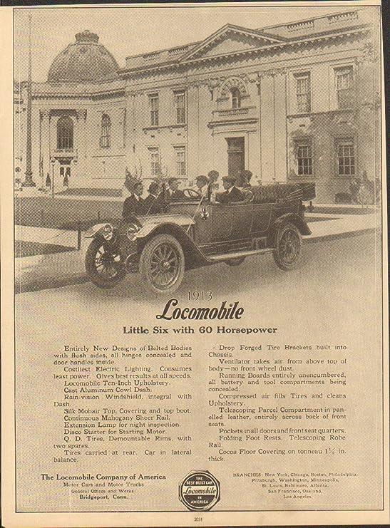 Amazon com: 1913 Locomobile 6 Bridgeport CT Automobile