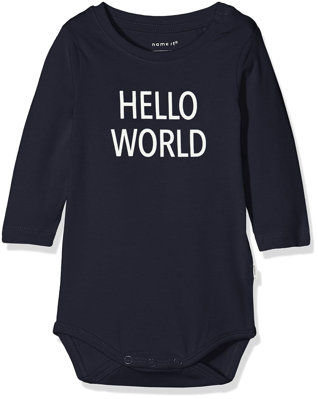 NAME IT Unisex Baby Nbndelufido Ls Top Noos T-Shirt