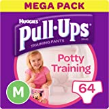 Huggies Pull-Ups Potty Training Pants for Girls, Medium, 64 Pants