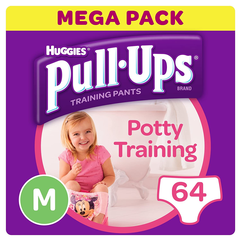 Huggies Klimmzü ge Tö pfchen Training Pants fü r Mä dchen, Medium Kimberly-Clark 2819411
