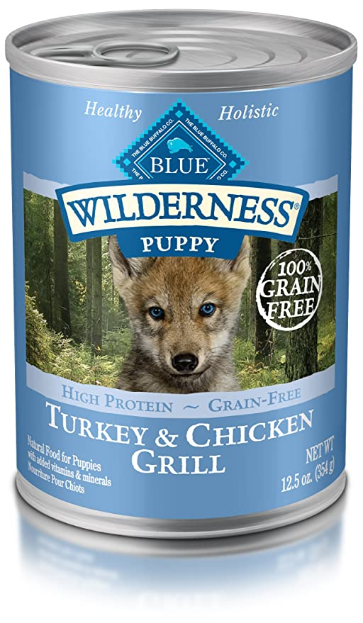 Blue Buffalo Wilderness High Protein Grain Free Natural Puppy Wet