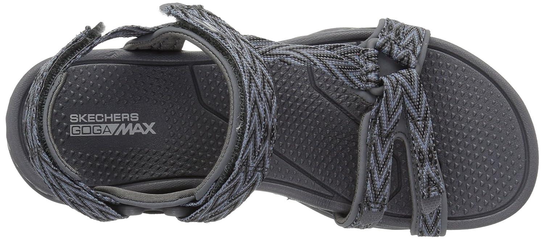 Skechers Women's Go Walk Outdoors-Runyon Sport Sandal B072T3M178 5 B(M) US|Charcoal